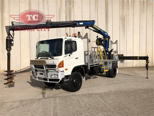 2006 Hino Gt1j Truck City - Trucks for Sale