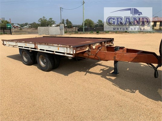 1987 Krueger Pig Tailer Grand Motor Group - Trailers for Sale