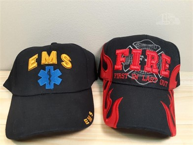 great fit catch save up to 80% 2-HATS EMS- FIRE FIRST IN LAST OUT-NEW Other Items For Sale - 1 ...