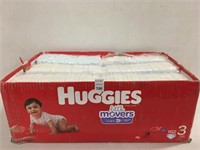 HUGGIES 162 DIAPERS SIZE 3