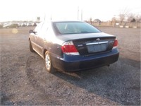 2005 TOYOTA CAMRY 181855 KMS