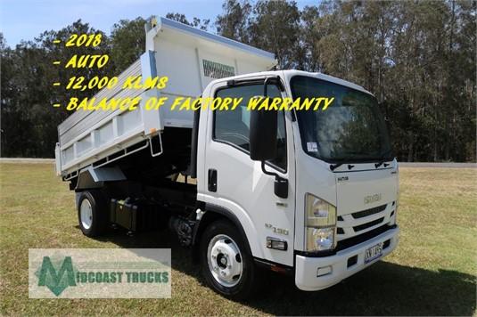 2018 Isuzu NQR 87 190 AMT Tipper Midcoast Trucks - Trucks for Sale