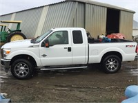 2011 FORD F-250 Ext. Cab Pick-Up, 4wd, 6.7L