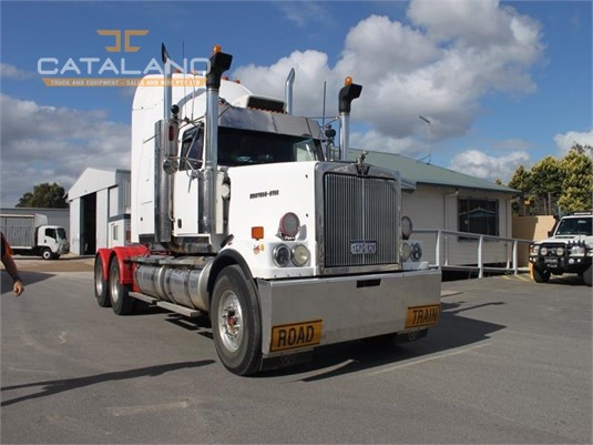 2001 Western Star 4900FX Catalano Truck And Equipment Sales And Hire - Trucks for Sale