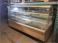 QBD Tip Out Glass REfrigerated Pastry Case