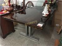 Barn Door Table w/ Metal Base - 42 x 84