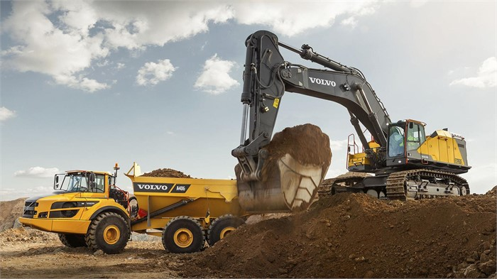 Volvo S Biggest Excavator The Ec950f Hits North American Shores Machinery Trader Blog