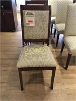 Cherry Sleigh Back Dining Chair