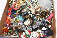 Tray of Assorted Jewelry