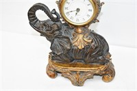 "Elephant Clock (Works) 12"" Tall"