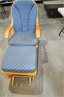 Glider Rocker (Cushions Need Cleaning)