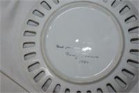 (2) Decorative Plates