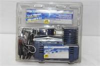 12V Air Compressor Plugs into Cigarette Lighter