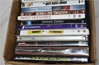 Box of (17) DVD's