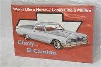 """El Camino Tin Sign 16""""x11"""""""