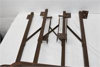 (2) Folding Table Legs
