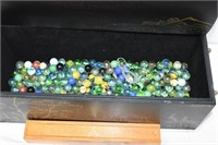 Treasure Box with Marbles, etc.