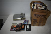 Group of VHS & DVD Player (Untested)