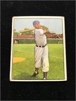 1950 Bowman Gum Hank Sauer Baseball Card