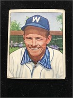 1950 Bowman Gum Gil Coan Baseball Card
