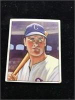 1950 Bowman Gum Gus Zernial Baseball Card
