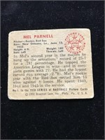 1950 Bowman Gum Mel Parnell Baseball Card