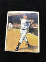 "1950 Bowman Gum Walter ""Hoot"" Evers Baseball Card"