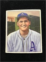 1950 Bowman Gum Alex Kellner Baseball Card