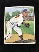 1950 Bowman Gum Vernon Bickford Baseball Card