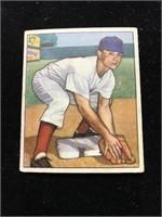 1950 Bowman Gum Grady Hatton Baseball Card