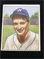 1950 Bowman Gum Sid Hudson Baseball Card