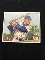 1950 Bowman Gum Eddie Robinson Baseball Card