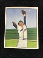1950 Bowman Gum Carroll Lockman Baseball Card