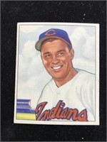 1950 Bowman Gum Gene Bearden Baseball Card