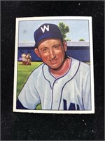 1950 Bowman Gum Rae Scarborough Baseball Card