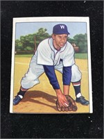 1950 Bowman Gum Sam Dente Baseball Card