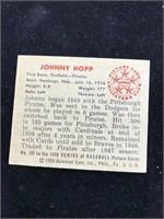 1950 Bowman Gum Johnny Hopp Baseball Card