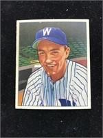 1950 Bowman Gum Irv Noren Baseball Card
