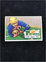 "1951 Bowman Gum Floyd ""Breezy? Reid Football"