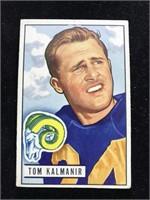 1951 Bowman Gum Tommy Kalmanir Football Card