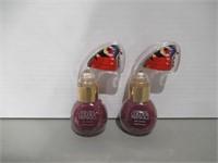 (2) Nonie Creme Colour Prevails Nail Laquer,