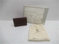 Smithsonian Genuine Leather Front Pocket Wallet
