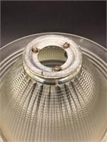 Vintage Industrial Holophane Shade