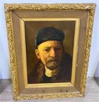 Oil on Canvas Portraits of Gentlemen