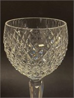 Pair of Waterford Crystal  Alana Pattern Wines