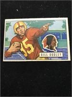 1951 Bowman Gum Bill Dudley Football Card