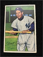 1952 Bowman Gum Phil Rizzuto Baseball Card