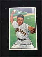 1952 Bowman Gum Joe Garagiola Baseball Card