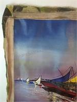 R Chardonnette Original Painting On Canvas 30 x