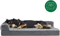 FURHAVEN DELUXE ORTHOPEDIC SOFA STYLE PET BED